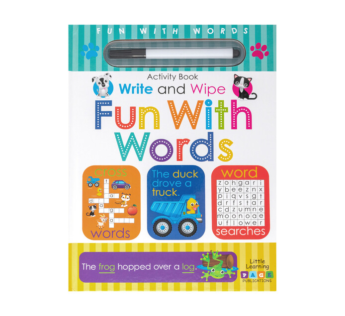 Write and Wipe Fun with Words