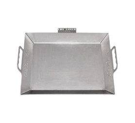FIRE FRYER Small Stainless Steel Braai Pan