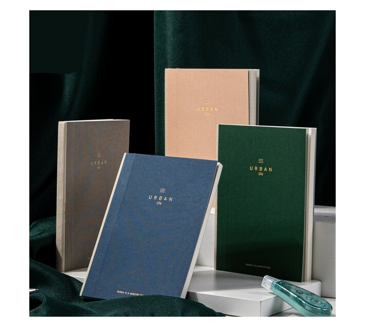 """Deli Stationery Planner Notebook """"182Mm*128M/96 Sheets"""