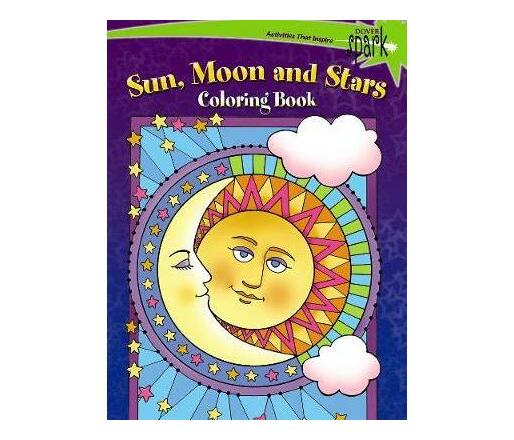 SPARK -- Sun, Moon and Stars Coloring Book