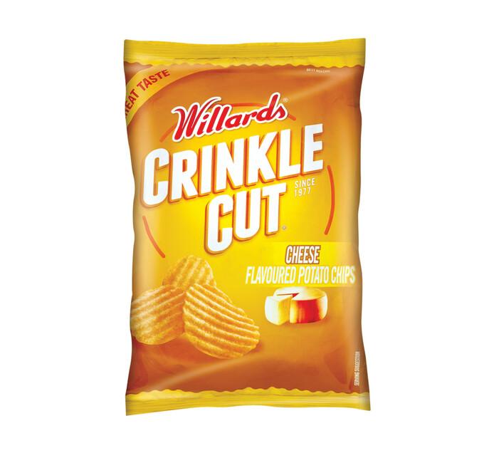 Willards Crinkle Cut Potato Chips (All Variants) (18 x 125g)