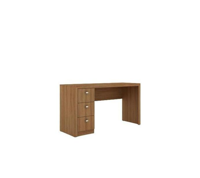 Reversible Office Desk – Almond