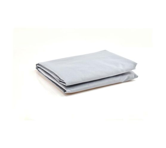 LARGE CAMP COT FITTED SHEET - GREY