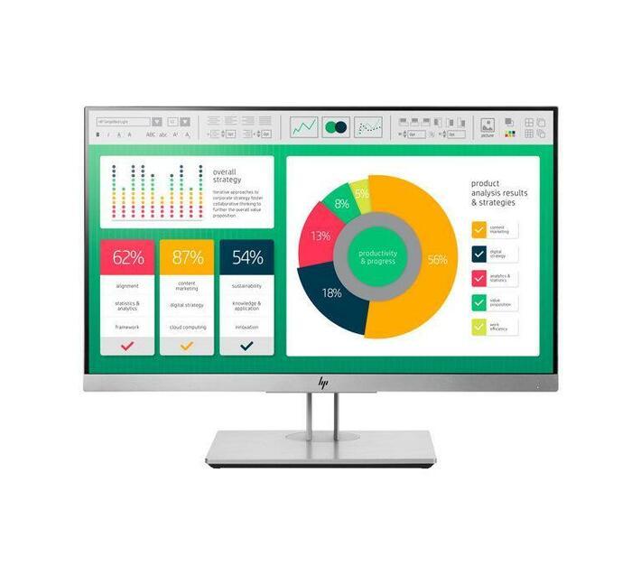 HP EliteDisplay E223 - LED monitor - Full HD (1080p) - 21.5`