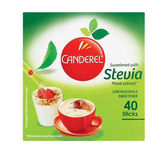 CANDEREL Stevia Sweetener Sticks (1 x 40's)