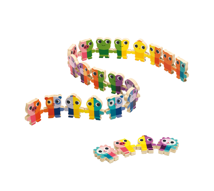 Djeco Wooden Game- Domino Up