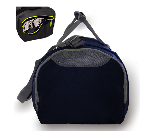 Kings Dome Shaped Navy & White Carry Bag - 2577S