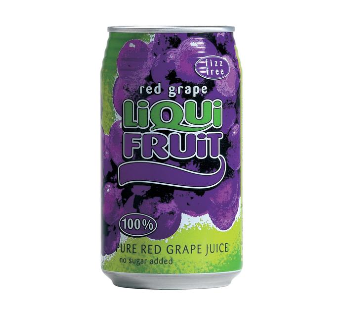 Liqui Fruit Fruit Juice Red Grape (6 x 330ml)