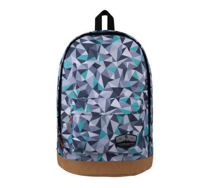 Volkano Suede Series Backpack - Geo Grey