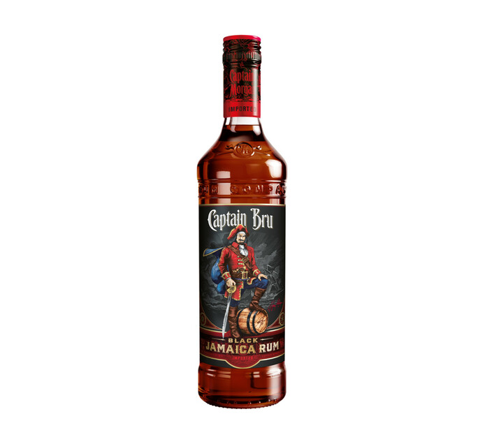 Captain Morgan Black Label Rum (1 X 750 Ml)