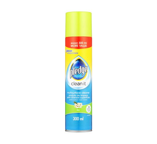 Pledge Multi Surface Cleaner Lily (1 x 300ml)