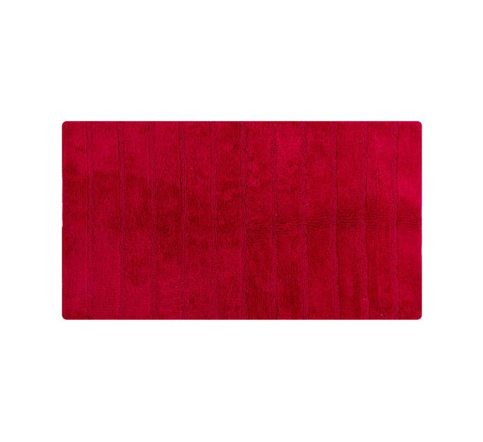 Home Living 90 x 50 cm Reno Bath Mat Red