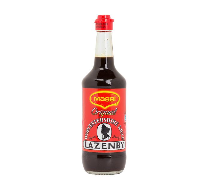 Maggi Lazenby Worcester Sauce (6  x 500ml)