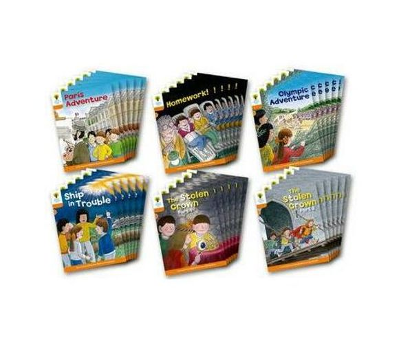 Oxford Reading Tree: Level 6: More Stories B: Class Pack of 36 (Multiple copy pack)
