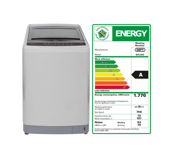 Defy 13 kg Top Loader Washing Machine