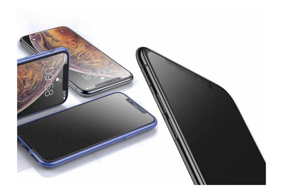 Baseus 0.3mm Frosted Curved Glass Screen Protector for iPhone 11 / XR