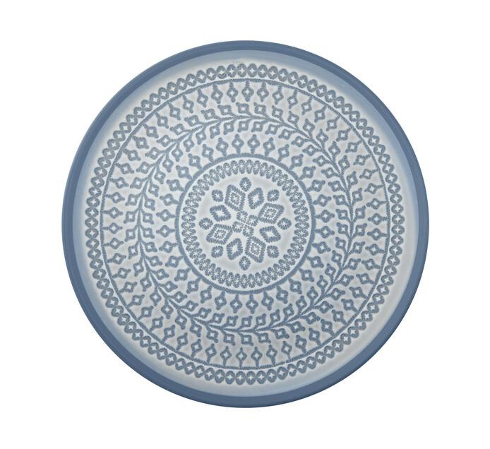 33 cm Fresh Luna Blue Platter