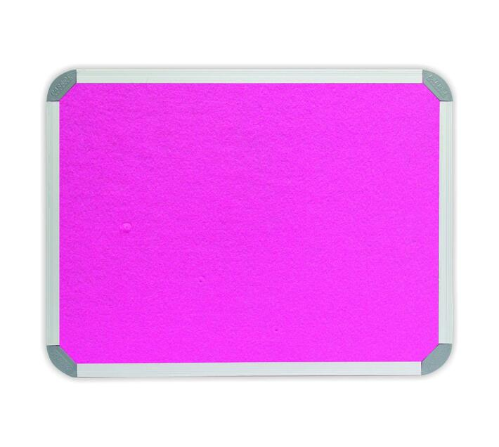 PARROT PRODUCTS Info Board (Aluminium Frame, 1200*900mm, Pink)