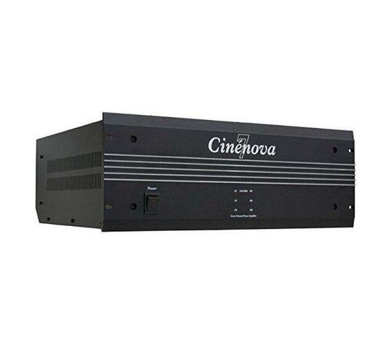 Earthquake Cinenova Grande 7 Channel Real Theatre, Home Cinema Power Amplifier-Colour-Titanium-Mod-Silver. Sold per Piece