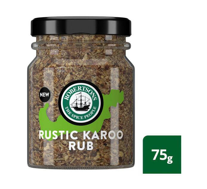 Robertsons Spice Rub Rustic Karoo (1 x 75g)