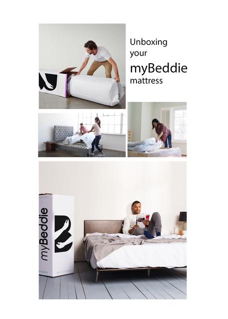 myBeddie Queen Mattress