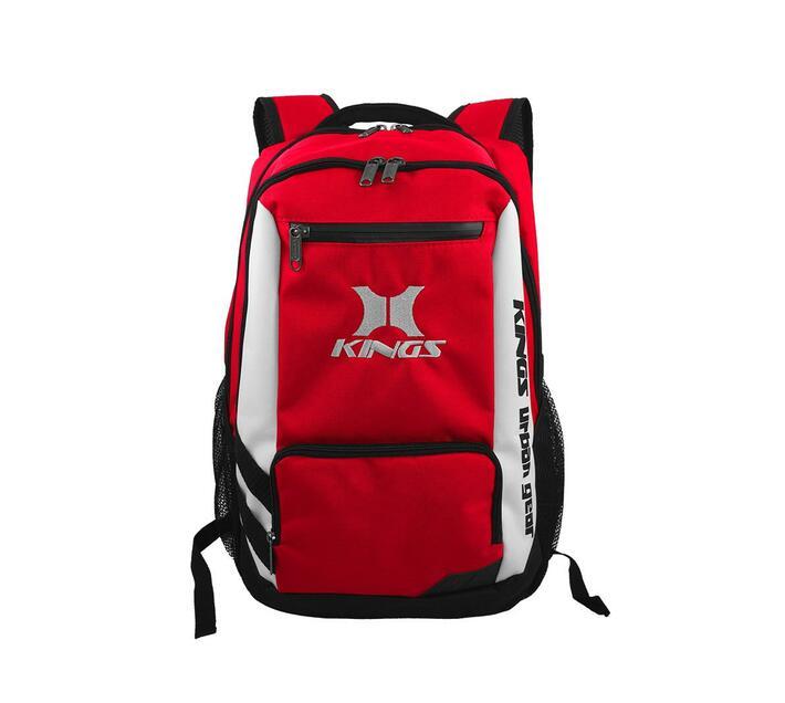 Kings Urban Gear Clean Cut 3 Toned Backpack - Red 2640