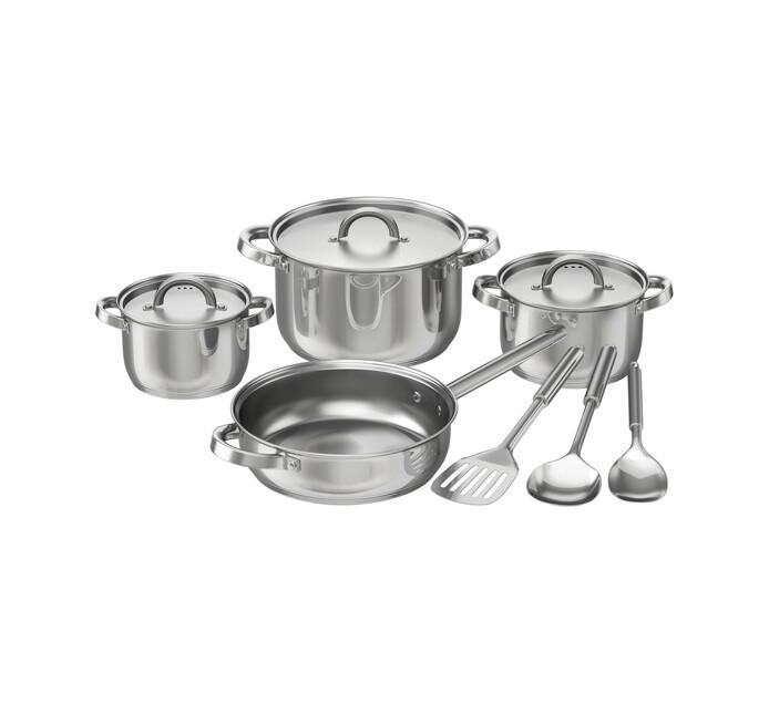 Bennett Read 10-Piece Cuisine Craft Stainless Steel Cookware Set