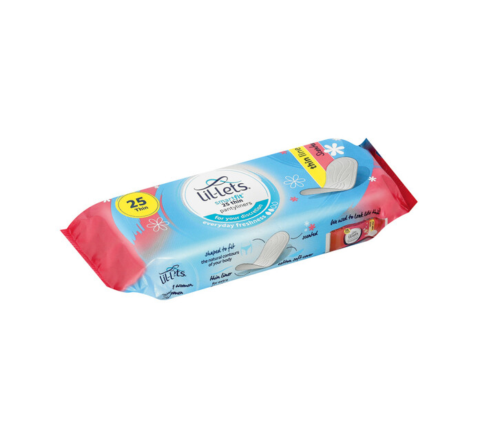 Lillets Scented Panty Liner (12 x 25's)