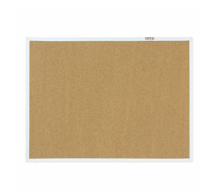 PARROT PRODUCTS Info Board (Plastic Frame, 600*450mm, Cork)