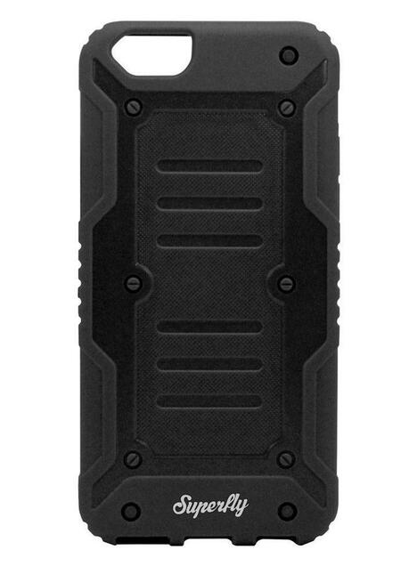 Superfly Soft Jacket Tank iPhone 6/6S Cover (Black/Grey)