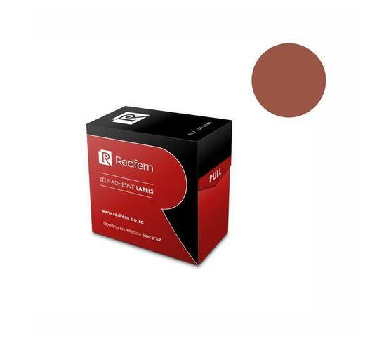 Redfern Self-Adhesive Colour Codes - C19 Brown