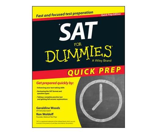 SAT For Dummies 2015