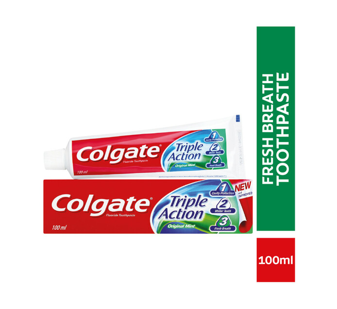 Colgate Triple Action Toothpaste (1 x 100ml)