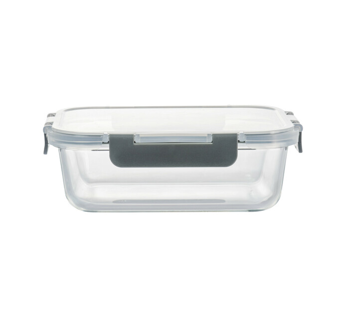 Consol 1 l Madrid Rectangular Storage Container with Clip-On Lid