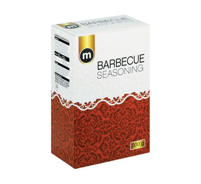 M Brand Seasoning Barbeque (12 x 200g)