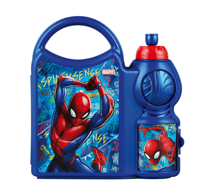 Disney Spiderman Lunch Box and Bottle
