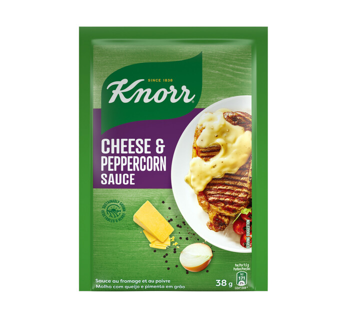 Knorr Packet Sauce Cheese & Peppercorn (1 x 38g)