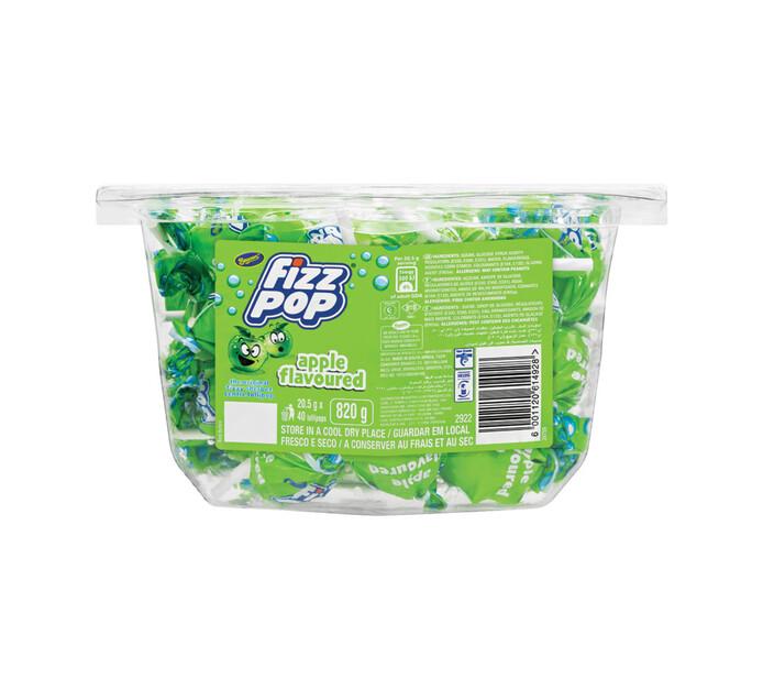 Beacon Fizz Pops Lollipops Apple (1 x 40's)