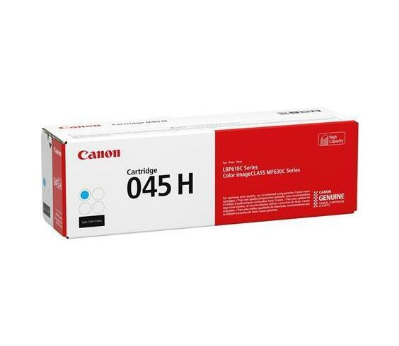 Canon 045 H - high capacity - yellow - original - toner cartridge