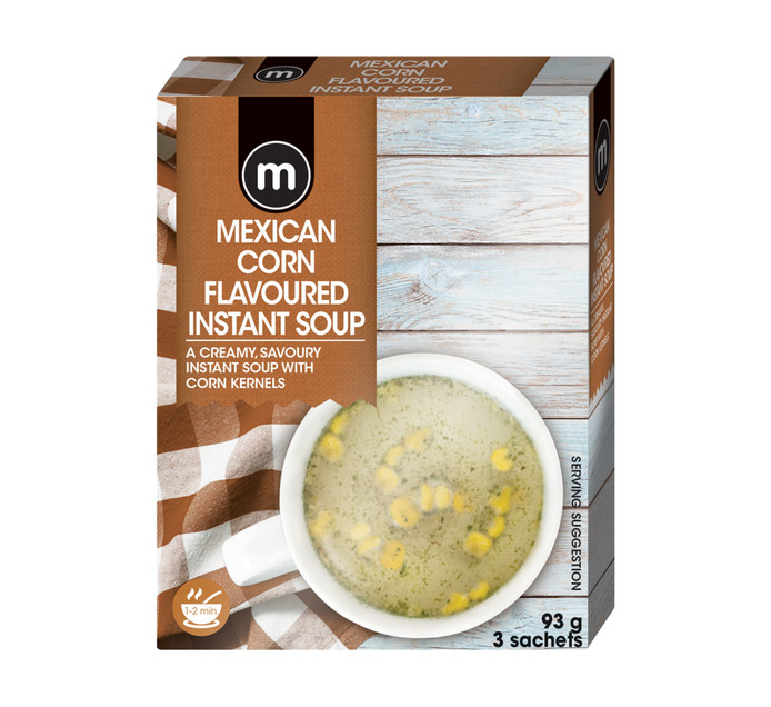 M Instant Soup Creamy Mexican Corn (3's)