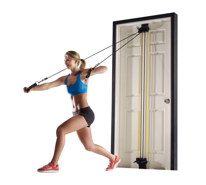 Volkano Active Doorway Gym with Varying Power Cords