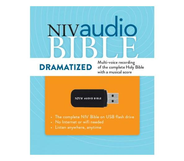 NIV Audio Bible (USB Flash Drive)
