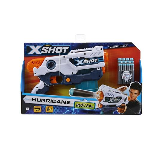 X-shot Hurricane Dart Gun with 16 Darts