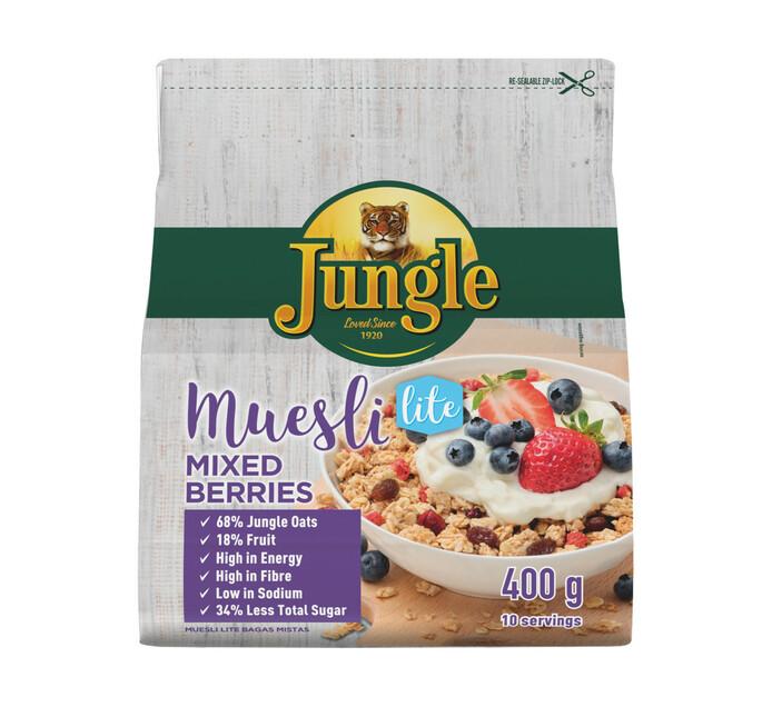 Jungle Muesli Mixed Berries Lite (1 x 400g)