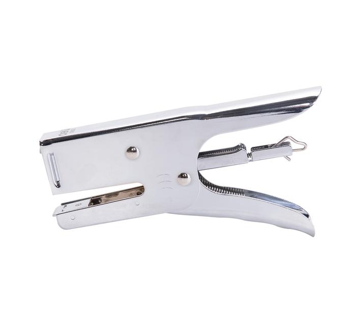 Deli Stationery Plier Stapler 30Sheets Silver