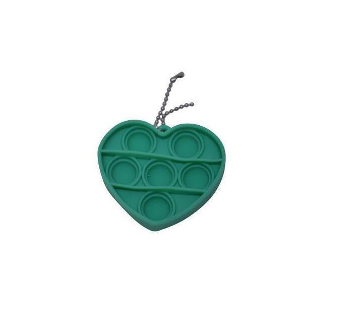 Poppet Fidget Toy (Green Heart)