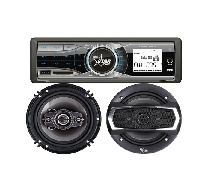 Starsound Car Audio Combo Kit