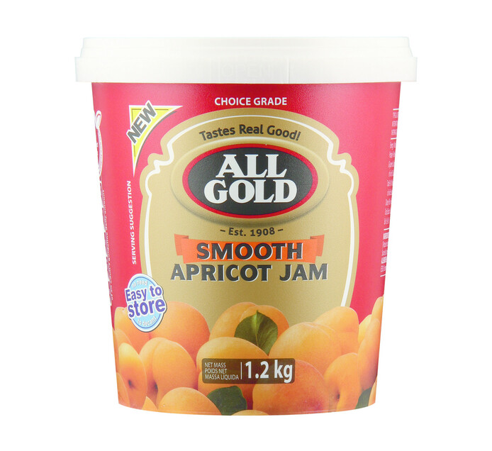 All Gold Jam Smooth Apricot (1 x 1.2kg)