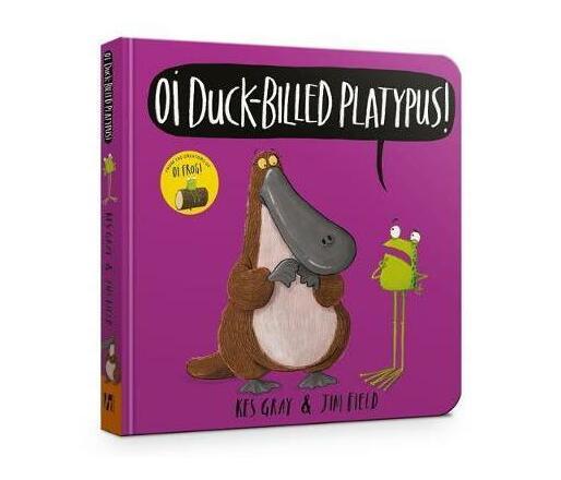 Oi Duck-billed Platypus Board Book