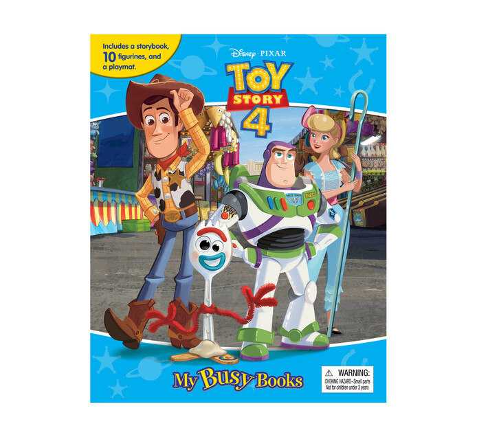 Toy Story Busy Book